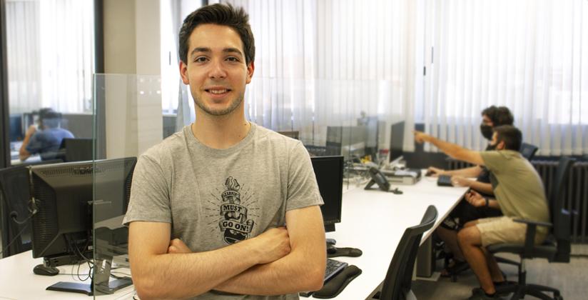 Javier del Campo desarrollador junior se incorpora a ADR Formación