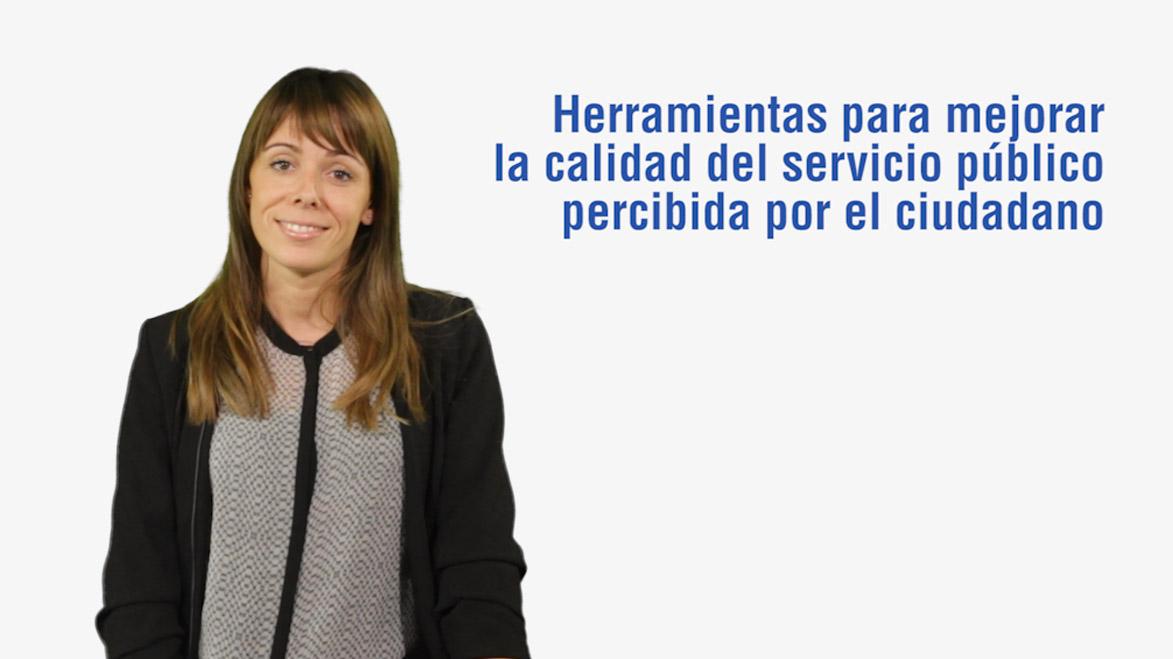 Curso de Herramientas para Mejorar la Calidad del Servicio Público percibida por el Ciudadano