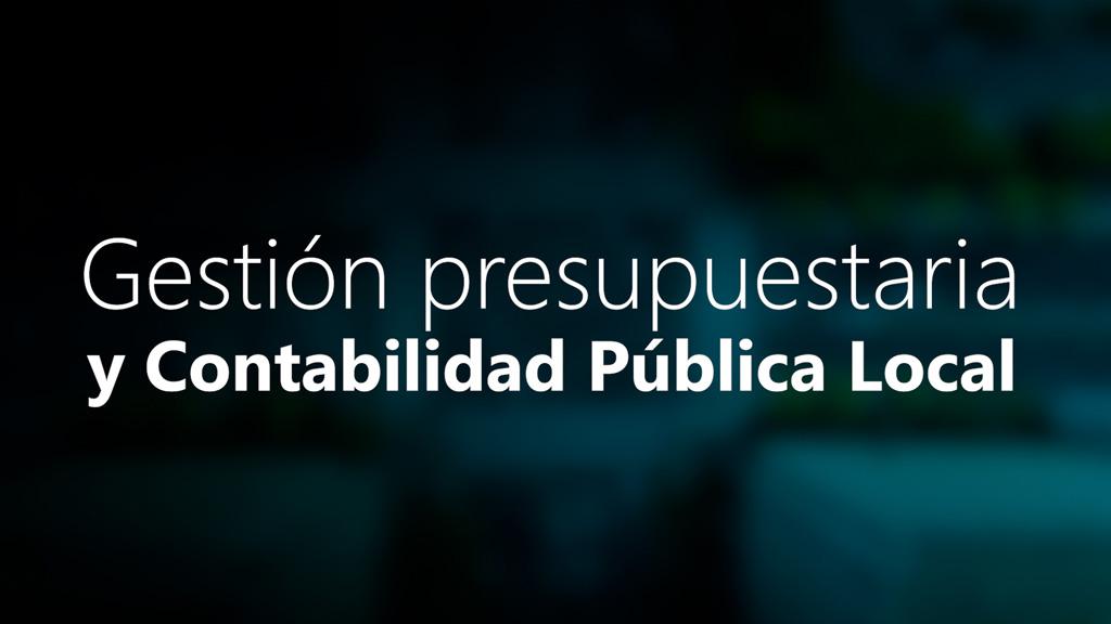 Curso de Gestión Presupuestaria y Contabilidad Pública Local
