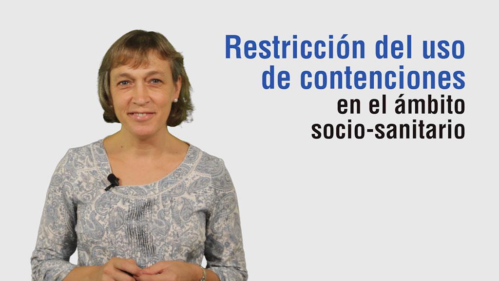 Curso de Recursos para Restringir el Uso de Contenciones en el Ámbito Sociosanitario