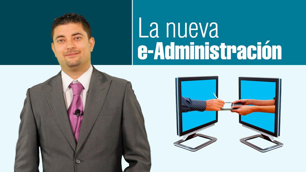 Curso de La Nueva e-Administración