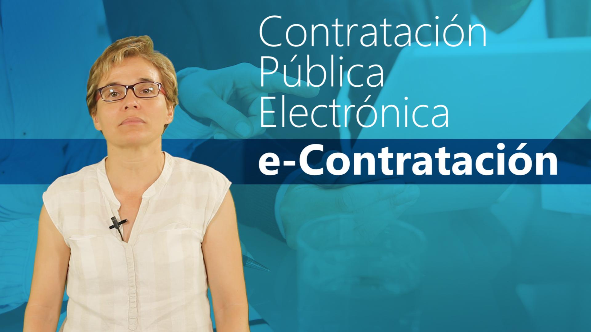 Curso de Contratación Pública Electrónica: e-Contratación