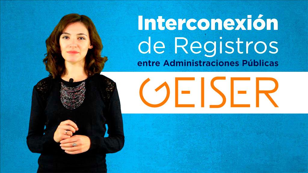 Curso de Interconexión de Registros entre Administraciones Públicas. REC, SIR, GEISER