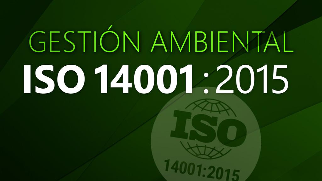 Curso de Gestión ambiental ISO 14001:2015