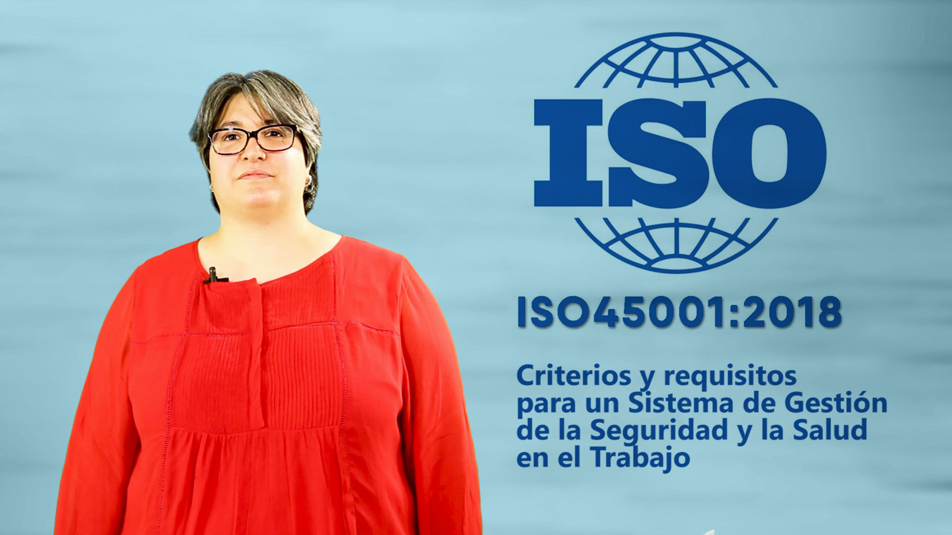 Curso de ISO 45001:2018. Sistemas de Gestión de la Seguridad y Salud en el Trabajo