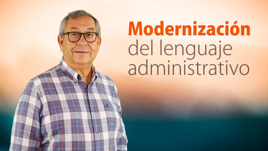 Curso de Modernización del Lenguaje Administrativo