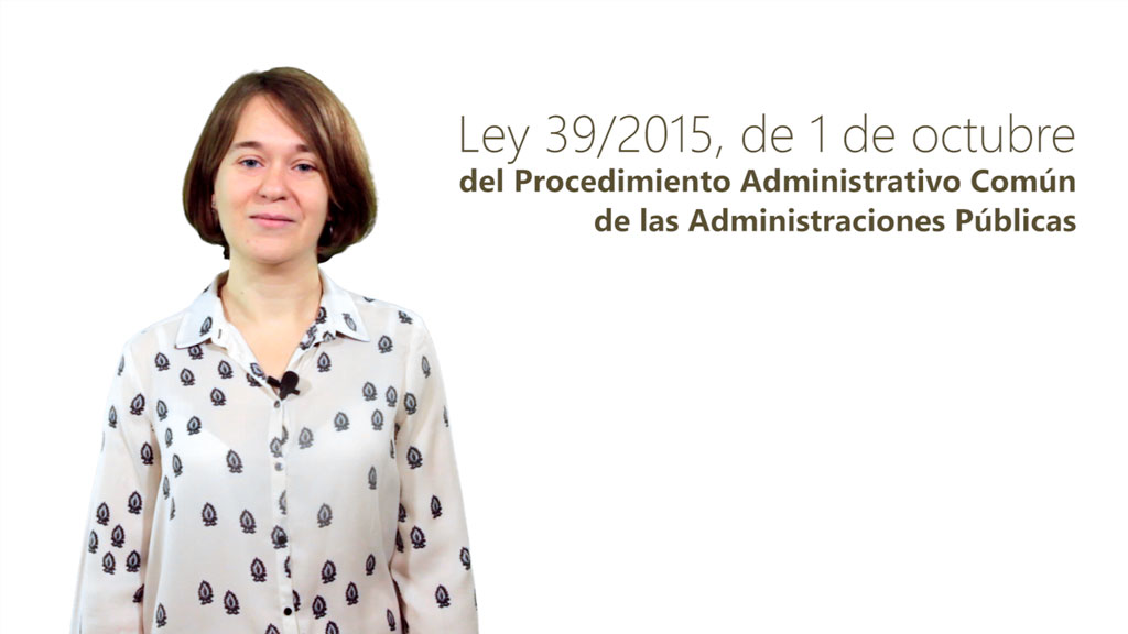 Curso de Ley 39/2015: Procedimiento de las Administraciones Públicas