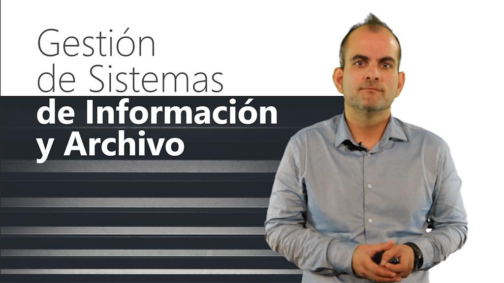 Curso de Gestión de Sistemas de Información y Archivo (MF0987_3)