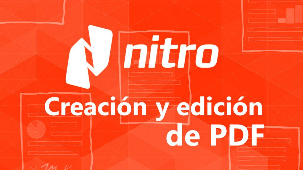 Curso de Creación y Edición de PDF con Nitro Pro
