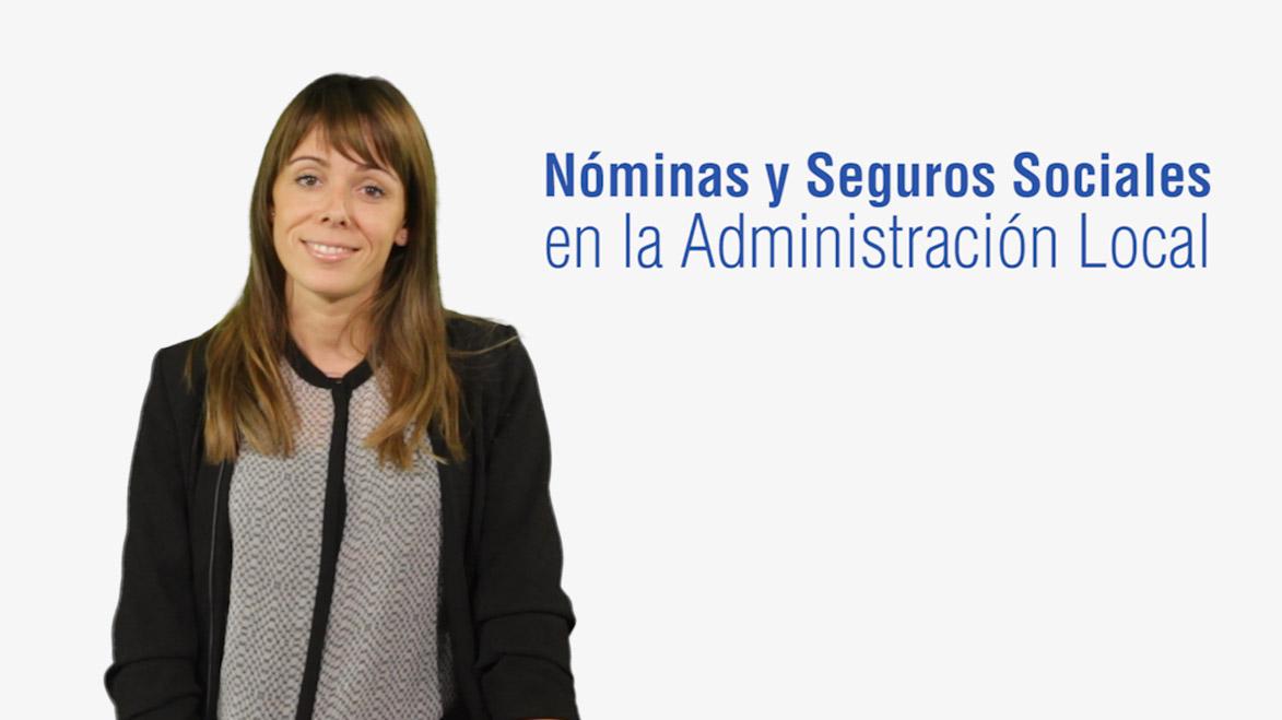 Curso de Iniciación a las Nóminas y Seguros Sociales en la Administración Local