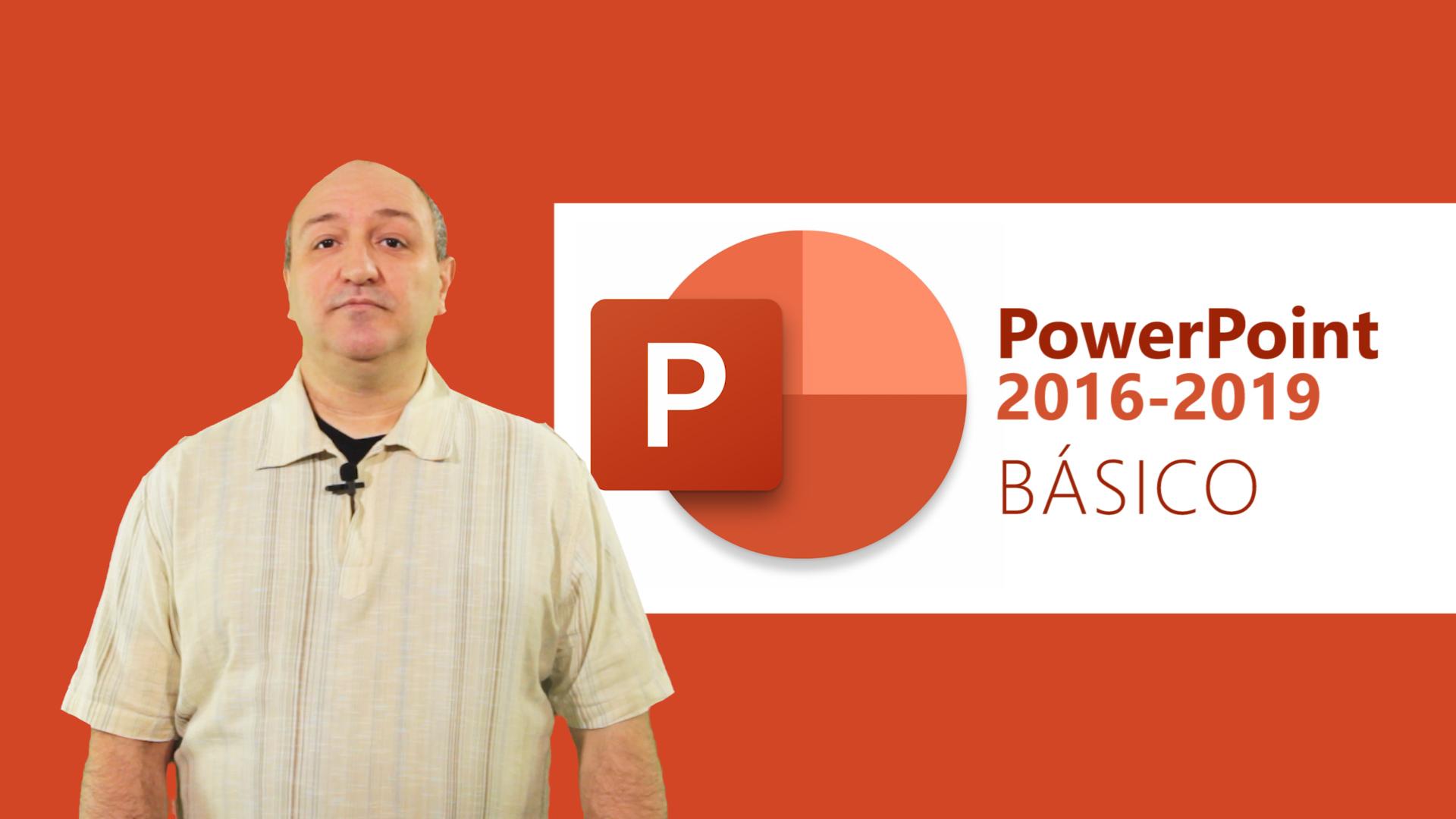 Curso de PowerPoint 2016/2019 Básico
