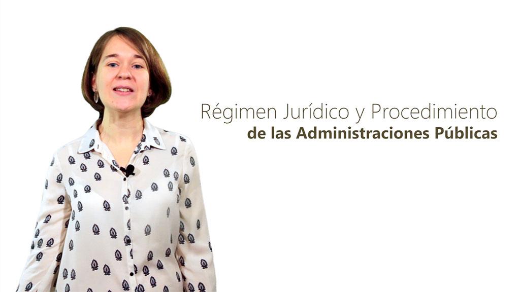 Curso de Régimen Jurídico y Procedimiento de las Administraciones Públicas
