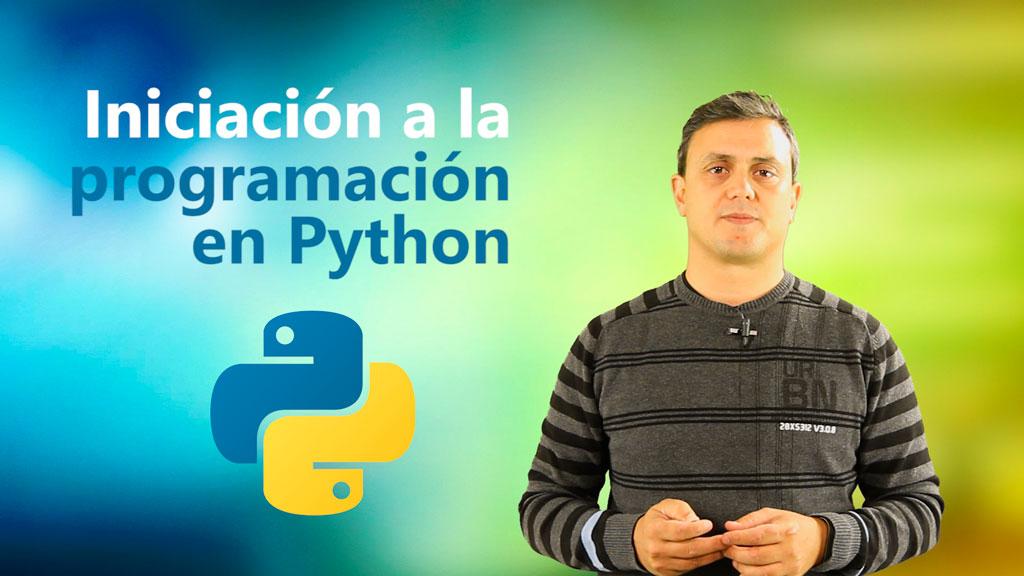 Curso de Iniciación a la Programación en Python